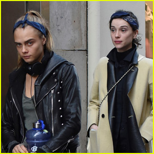 Cara Delevingne & St. Vincent Have a Romantic Dinner in Paris