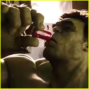 Coca-Cola Super Bowl Commercial 2016: Ant-Man vs. The Hulk
