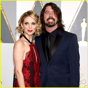 Dave Grohl Attends Oscars 2016 with Wife Jordyn Blum!