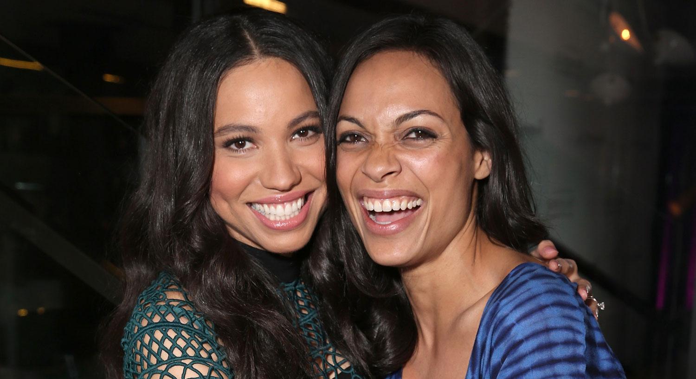 Rosario Dawson Celebrates Sistahs With Jurnee Smollett