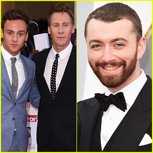 Dustin Lance Black Calls Out Sam Smith, Tells Him to Stop Texting His Fiance Tom Daley