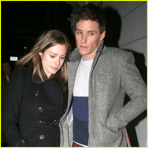 Eddie Redmayne Treats Pregnant Wife Hannah to Dinner
