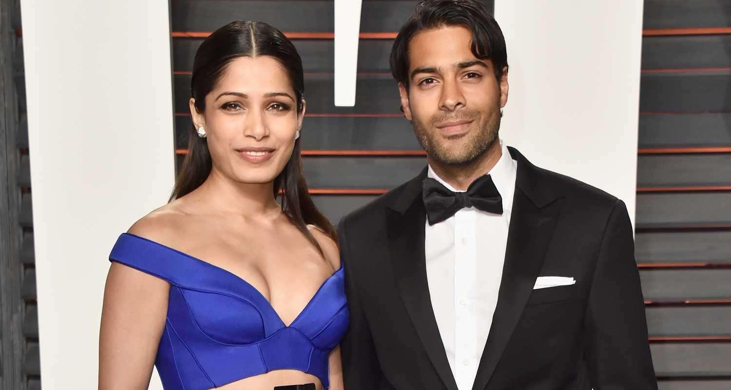 Freida Pinto & Boyfriend Ronnie Bacardi Make First ...