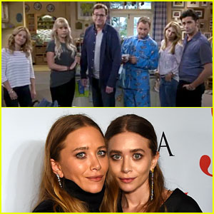 fuller house cast shades olsen twins in episode one video