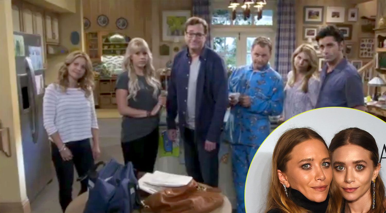 U0027Fuller Houseu0027 Cast Shades Olsen Twins In Episode One (Video) | Ashley  Olsen, Bob Saget, Candace Cameron Bure, Dave Coulier, Full House, Fuller  House, ...