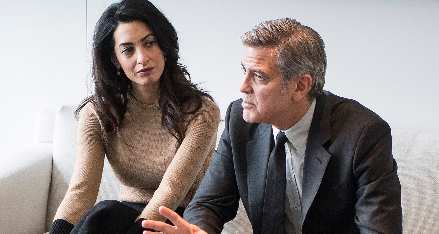 amal and george how did they meet