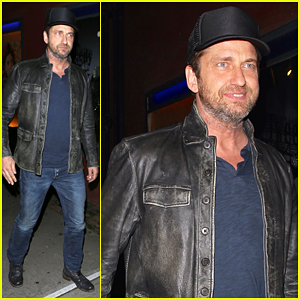 Gerard Butler Spends An Evening with Judd Apatow & Friends!