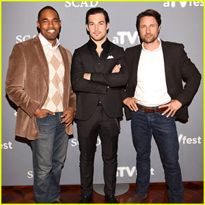 Giacomo Gianniotti Attends Screening of Denzel Washington-Directed 'Grey's Anatomy' Episode