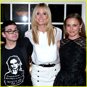 Heidi Klum & Alicia Silverstone Support Christian Siriano's New Non-Leather Handbag Line!