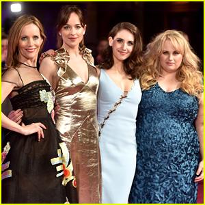 Dakota Johnson & 'How to Be Single' Cast Premiere Film in London!