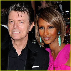 Iman Breaks Silence After Husband David Bowie's Death