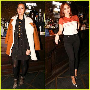 Jamie Chung & Debby Ryan Launch Madewell X Daryl K Collection