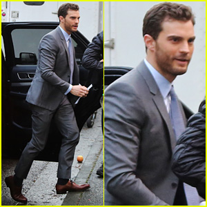 Jamie Dornan Seen on 'Fifty Shades Darker' Set for First Time!