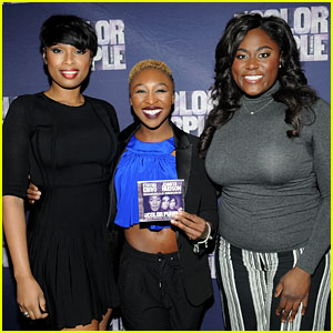 Jennifer Hudson & 'Color Purple' Cast Celebrate at Album Listening Party!