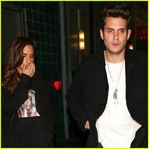 John Mayer Brings Mystery Girl to Adele Concert