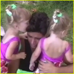 John Stamos Shares Home Video with Olsen Twins from 1989!