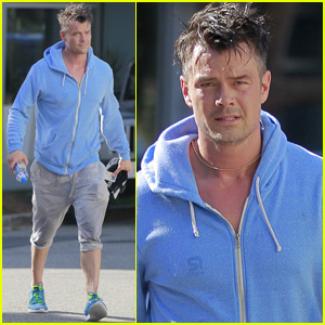 Josh Duhamel Loves Taking His Son Axl to North Dakota