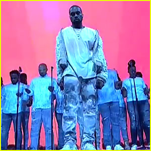 Kanye West Performs 'Ultra Light Beams' on 'SNL' - Watch Now!