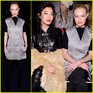 Kate Bosworth & Arden Cho Get Friendly During NYFW 2016