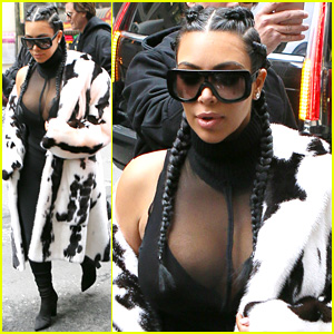 Kim Kardashian Looks So Ready for NYFW - See Her Latest Look!