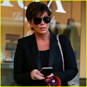 Kris Jenner Steps Out with Bandaged Hand After Surgery