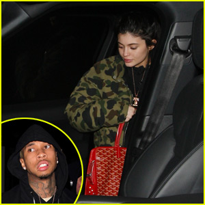 Kylie Jenner & Tyga Have a Date Night at Craig's