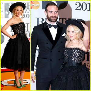 Kylie Minogue Brings New Fiance Joshua Sasse to BRIT Awards 2016