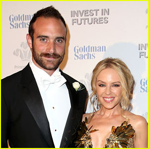 Kylie Minogue Is Engaged to Galavant's Joshua Sasse!