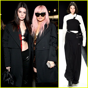 Kendall Jenner Gets Support From Sister Kylie at Vera Wang NYFW 2016 Show
