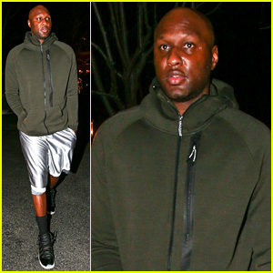 Lamar Odom Spends Friendly Valentine's Day with Khloe Kardashian: Report