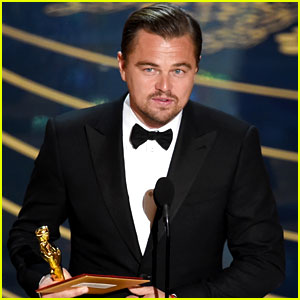 Leonardo DiCaprio Finally Wins an Oscar After Six Nominations