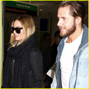 Margot Robbie Spotted Out With Boyfriend Tom Ackerley