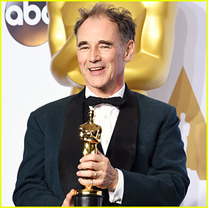 Mark Rylance Wins Best Supporting Actor at Oscars 2016!