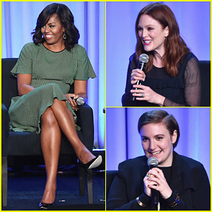 Michelle Obama, Julianne Moore & Lena Dunham Team Up To Talk Social Media!