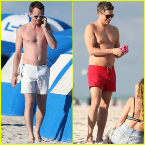 Neil Patrick Harris & David Burtka Skip Oscars for Miami Trip