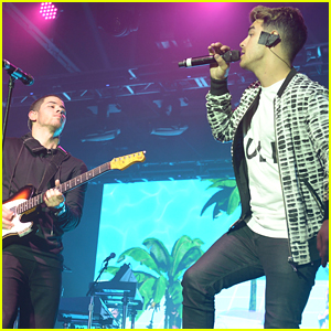 Nick & Joe Jonas Reunite Again For ESPN The Party During Super Bowl Weekend