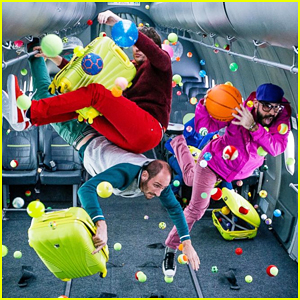 OK Go Premiere 'Upside Down & Inside Out' Music Video Filmed In Zero Gravity - Watch Now!