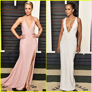 Rachel McAdams & Kerry Washington Switch It Up At Vanity Fair Oscar Party 2016!