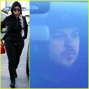 Rob Kardashian Drives Blac Chyna to the Dermatologist