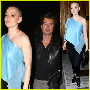 Rose McGowan Hangs with Pal Victor Kubicek After Split News