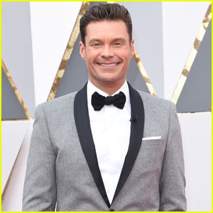 Ryan Seacrest Makes an Early Arrival at Oscars 2016