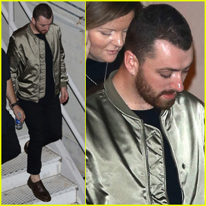 Sam Smith Steps Out Amid Concerns About Dramatic Weight Loss