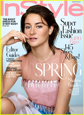 Shailene Woodley Feels She's Stronger In A 'Pair of Oxfords' Than Heels
