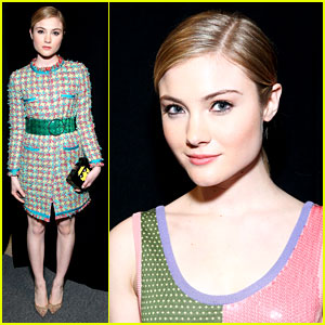 Skyler Samuels Writes Heartfelt Note to Jeremy Scott After NYFW 2016 Show