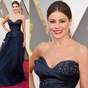 Sofia Vergara Arrives for Oscars 2016 Sans Joe Manganiello