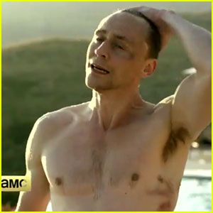 Tom Hiddleston Is Shirtless & Wet in 'Night Manager' Trailer!