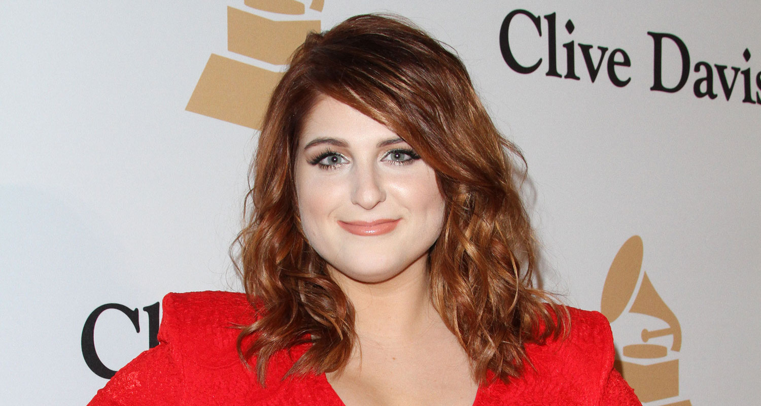 Meghan trainor debuts new hair color at pre grammys party 2016 meghan trainor debuts new hair color at pre grammys party 2016 grammys weekend meghan trainor just jared publicscrutiny