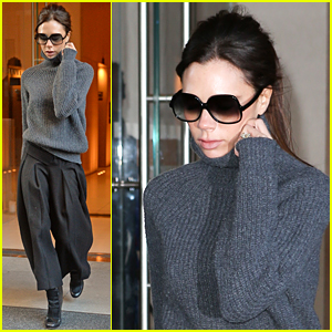 Victoria Beckham Gears Up for Her Upcoming Fashion Show