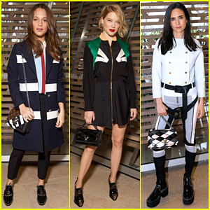 Alicia Vikander, Lea Seydoux & Jennifer Connelly Turn Out Fierce Looks At Louis Vuitton Show!
