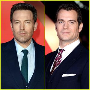 Ben Affleck & Henry Cavill Suit Up for 'Batman v Superman' London Premiere!